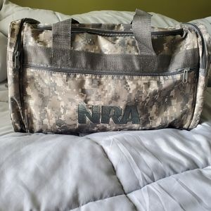Other - New NRA Digital Camo Duffel Bag